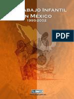 El trabajo infantil en México 1995-2002