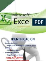 Bienvenido a Excel