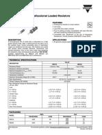 Resistor 1k - Vishay - 0.6w
