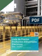 Lista de Precios Siemens Mayo24 2017