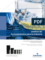 Unidrive M Overview Es