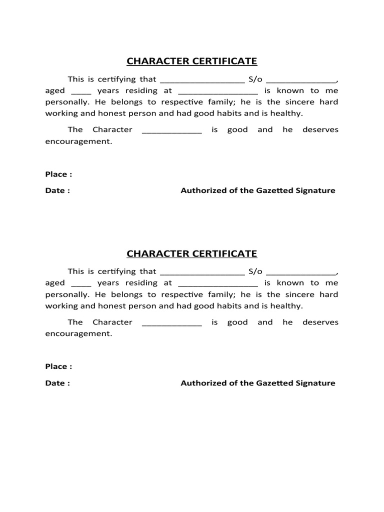 Character certificate format by gazetted officer in hindi best adver navik doc 01 2016 6 13 lication form 6 13 lication form character certificate format by gazetted officer altavistaventures Gallery