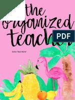 Teacher Binders - Editable