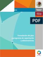 Formulación Del Plan y Programa de Capacitación y Adistramiento