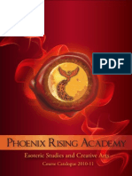 Phoenix Rising Academy Course Catalogue 2011 (ENGLISH)