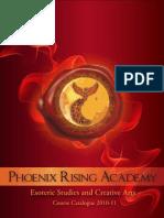 Phoenix Rising Academy Course Catalogue 2011 (ENGLISH)