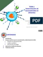 TEMA07-Determinación de Nanomateriales en Alimentos