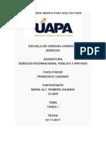 Tarea 1d Derecho Internacional Público y Privado