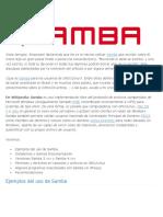 Samba Linux