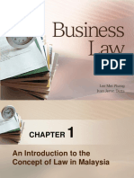 Chapter 1 - Introduction to Law