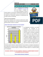 Charla Integral SSSE 148 - Incremento de Reportes de Casi Accidentes en Antamina