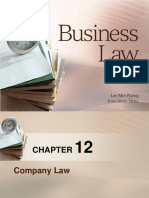 Chapter 4-6 - Company Law