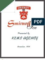 Smirnoff Plan Book