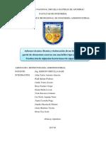 informe tecnico biorreactor