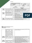 Calendario de Evaluaciones Programadas Artes Visuales Sexto Basico