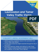 Launceston and Tamar Valley Traffic Vision