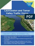 Launceston and Tamar Valley Traffic Vision
