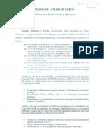 Direito Processual Civil Executivo e Recursos - A - Freq.