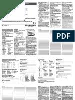 WT5500 RF Keypad Installation Guide