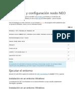2. Instalación y Configuración Nodo NEO