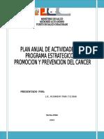 Plan Cancer 2015
