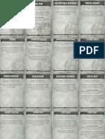 Necromunda Tactic Cards