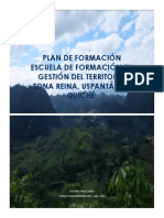 Plan Formacion en Gestión Del Territorio