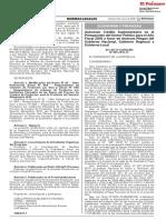 Autorizan Crédito Suplementario en El Presupuesto Del Sector Público Para El Año Fiscal 2018 a Favor de Diversos Pliegos Del Gobierno Nacional Gobierno Regional y Gobierno Local