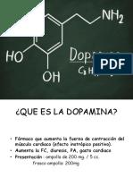 Dopamina y Dobutamina