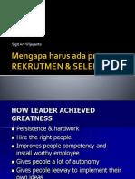 4 Rekrutmen Dan Seleksi