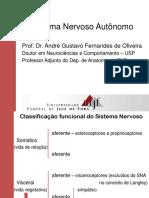 Sistema Nervoso Autônomo Generalidades UFJF