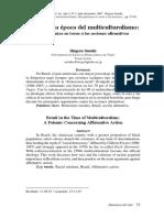 Brasil en La Epoca Del Multiclturalismo.una Polemica Entorno a Las Acciones Afirmativas