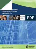 Queensland Government Enterprise Architecture Framework 2 0 v 1 0 0