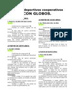 05 Juegos Deportivos Cooperativos Con Globos(1)