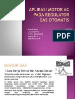 Aplikasi Motor Ac Pada Regulator Gas Otomatis