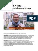 Siegfried Nehls . Denkmalschutzabschreibung