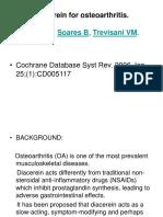 Diacerein Cochrane Review 26 Jan 2006 -Stoppress