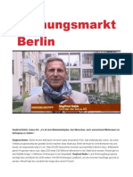 Siegfried Nehls . Wohnungsmarkt Berlin