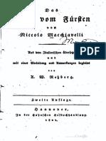 Machiavelli, Niccolo - Das Buch vom Fuersten (1824, 277 S., Scan, Fraktur).pdf