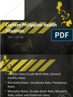 69 Current Philippine Health Situation
