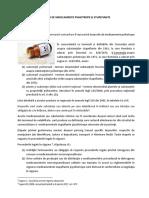 Gestionarea Deșeurilor de Medicamente Psihotrope Și Stupefiante
