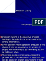 Decision Making A