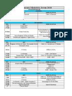 Planejamento Mnistério Jovem 2018