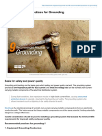 Electrical-Engineering-portal.com-9 Recommended Practices for Grounding