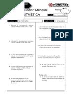 3 Examen Mensual 5 Sec Rm Aritm Breña