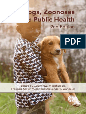 Macpherson Et Al, 2013 Dogs, Zoonoses and PH | Dogs | Pet