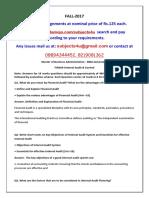 FIN304-Internal Audit & Control