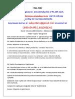 FIN303 Taxation Management