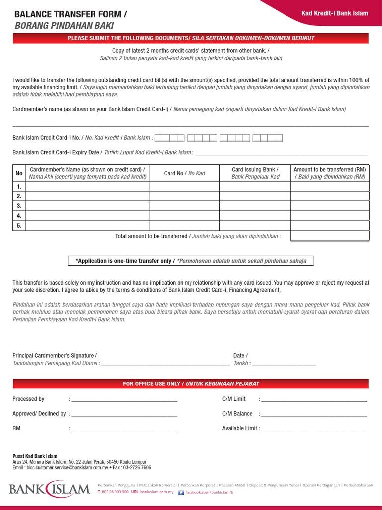 Bic Balancetransferform 0802131
