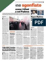 La Gazzetta Dello Sport 14-01-2018 - Il Caso Vicenza